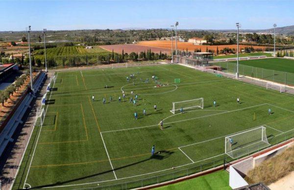 installations-sportives-stage-football-porto-valence-espagne