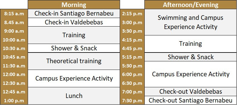 Soccer-camp-Real-Madrid-planning-day-camp