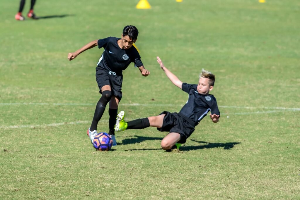Professional soccer camp